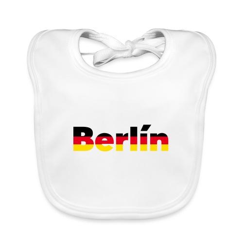 Berlín - Babero de algodón orgánico para bebés