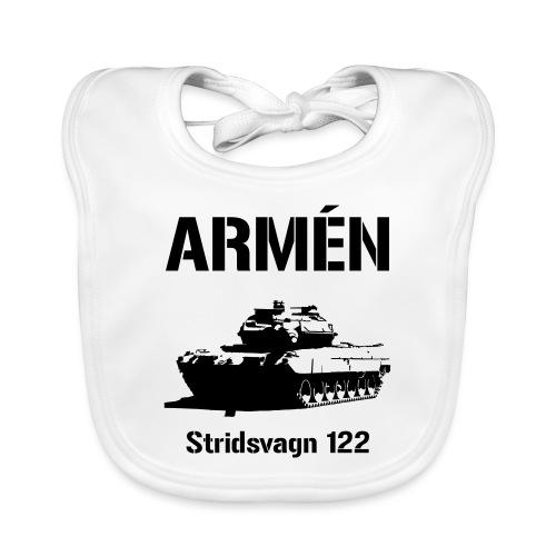 ARMÉN - Stridsvagn 122 - Ekologisk babyhaklapp