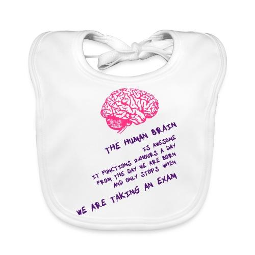 Human Brain - Bavaglino ecologico per neonato
