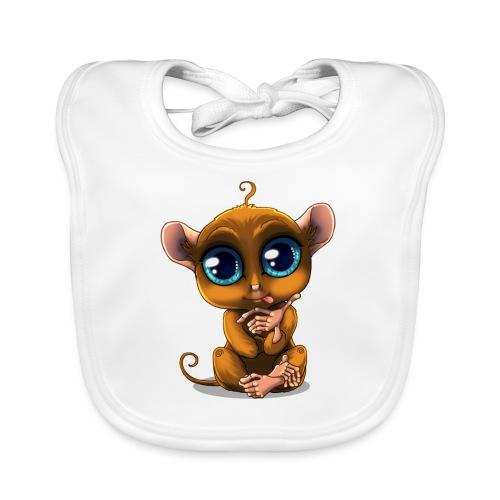 Tarsier Monkey - Bavoir bio Bébé