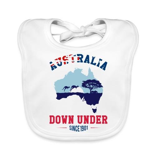 AUSTRALIA - DOWN UNDER - Baby Bio-Lätzchen