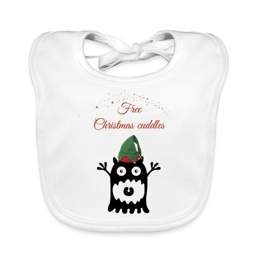 Calins de Noël - Christmas cuddels - Bavoir bio Bébé