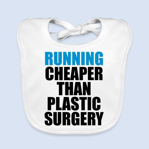Running is cheaper than - Baby Bio-Lätzchen