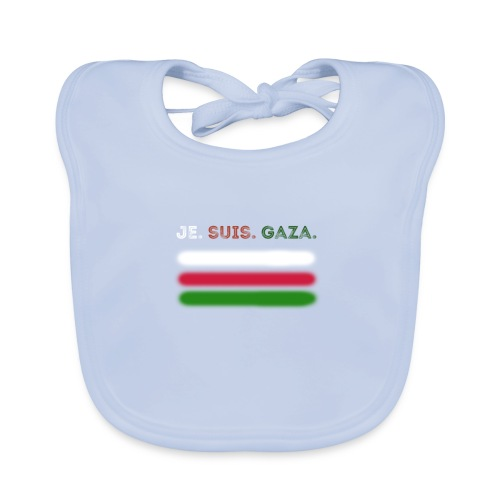 Je Suis Gaza - Hagesmække af økologisk bomuld