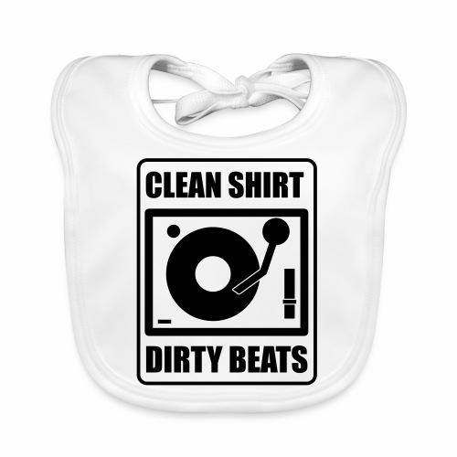 Clean Shirt Dirty Beats - Bio-slabbetje voor baby's