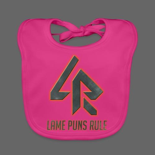 Lame Puns Rule: Logo - Baby Organic Bib