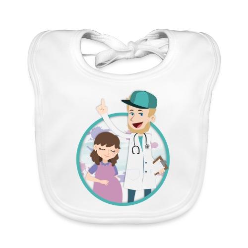 Richtig Schwanger Logo - Baby Bio-Lätzchen