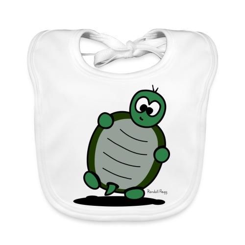 Kathy la tortue - Bavoir bio Bébé