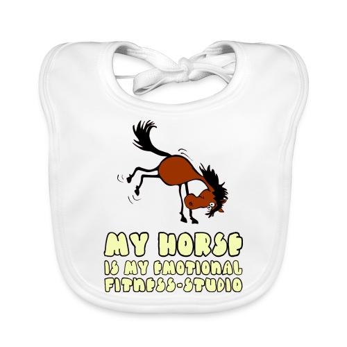 my horse is my emotional Fitness Studio - Baby Bio-Lätzchen