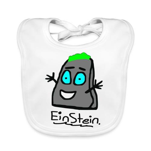 Einstein ein Stein - Baby Bio-Lätzchen