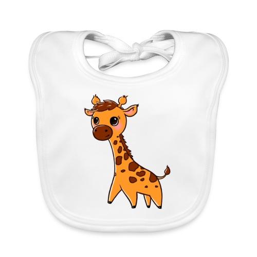 Mini Giraffe - Baby Organic Bib