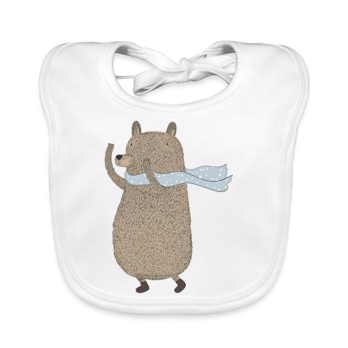 Fluffy Cuddle Bear by #OneCreativeArts - Baby Bio-Lätzchen