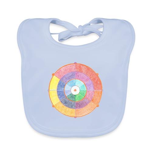 Creativity Rainbow originale png - Bavaglino ecologico per neonato