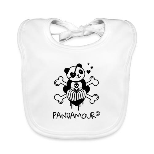 PANDAMOUR - Bavoir bio Bébé
