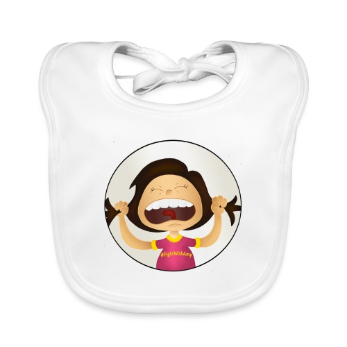 Amy's motto (image only) - Organic Baby Bibs