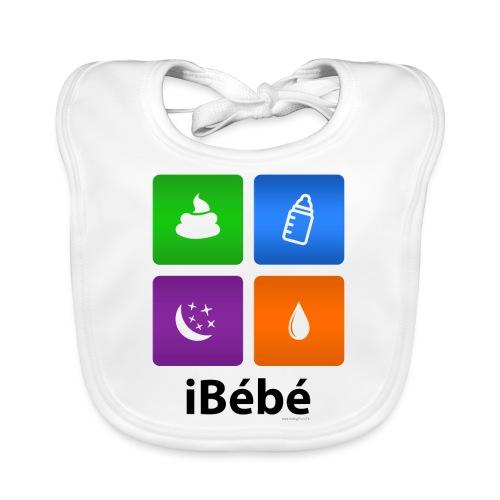 iBébé - Bavoir bio Bébé