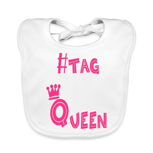 #tag Queen - Vauvan ruokalappu