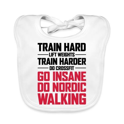 Nordic Walking - Go Insane - Vauvan luomuruokalappu