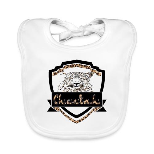 Cheetah Shield - Baby Organic Bib