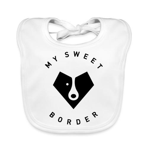 My sweet border - Bavoir bio Bébé