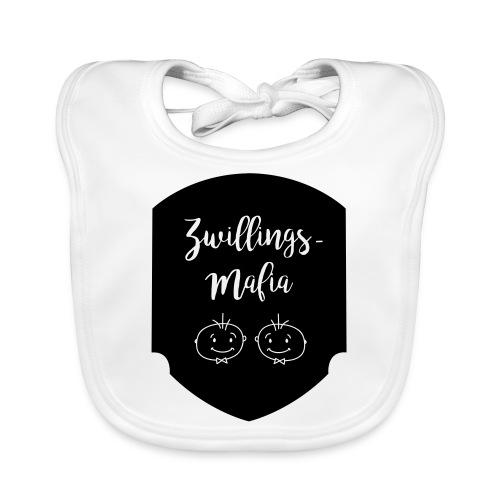 Zwillings-Mafia: Bub-Bub mit Hintergrund - Baby Bio-Lätzchen