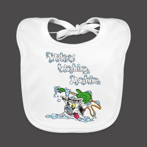 Wicked Washing Machine Cartoon and Logo - Bio-slabbetje voor baby's