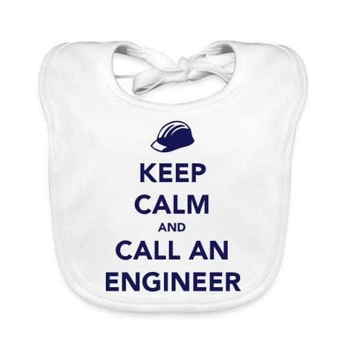 Keep Calm and Call an Engineer - Baby Organic Bib