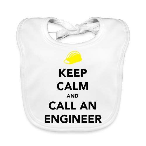 Keep Calm Engineer - Baby Organic Bib