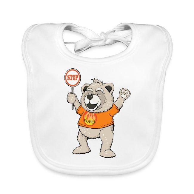 FUPO der Bär. Druckfarbe bunt