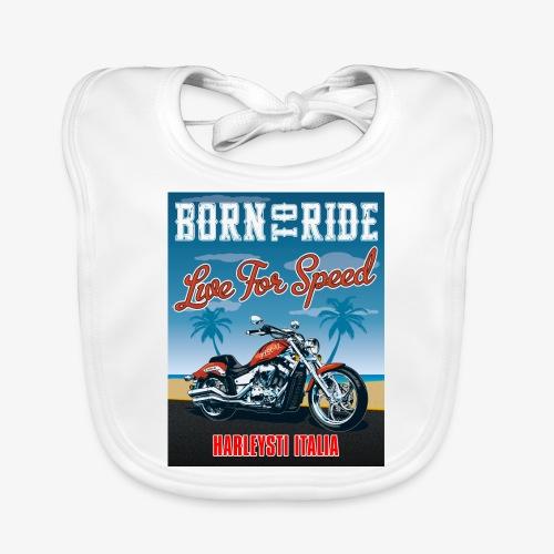 Summer 2021 - Born to ride - Bavaglino ecologico per neonato