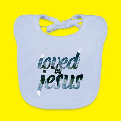 LOVED BY JESUS - Organic Baby Bibs