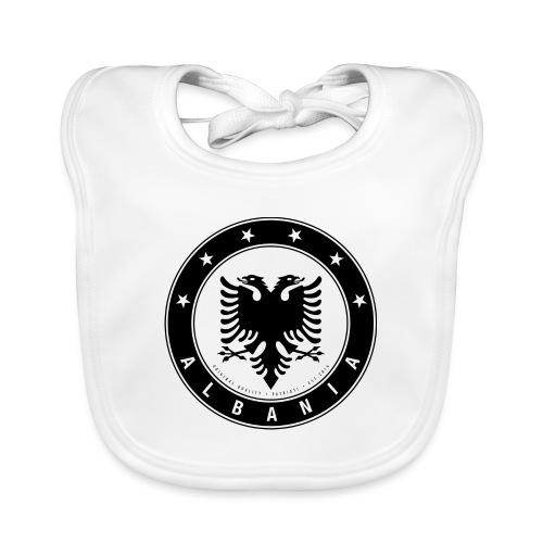 Patrioti Albania Black - Baby Bio-Lätzchen