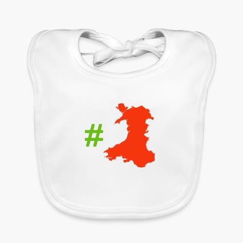 Hashtag Wales - Baby Organic Bib