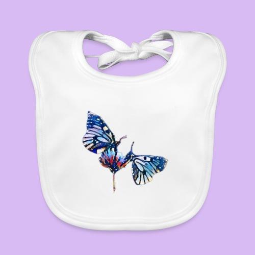 Coppia di farfalle - Bavaglino