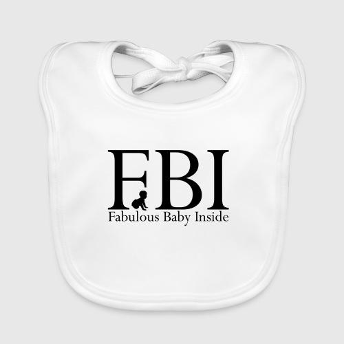 fbi png - Baby økologisk hagesmæk