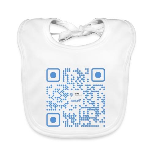 QR Maidsafe.net - Baby Organic Bib