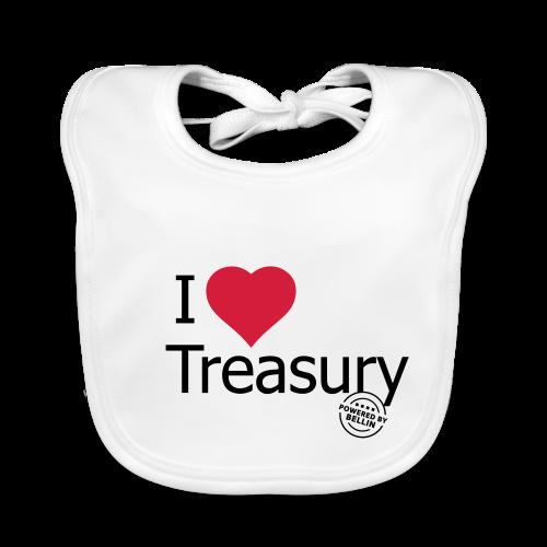 I LOVE TREASURY - Baby Organic Bib