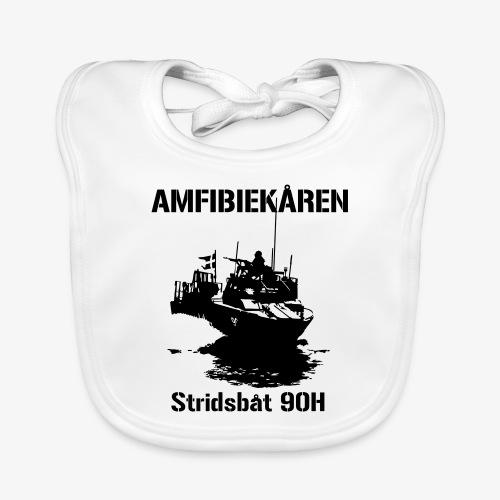 Amfibiekåren - Stridsbåt 90H - Ekologisk babyhaklapp