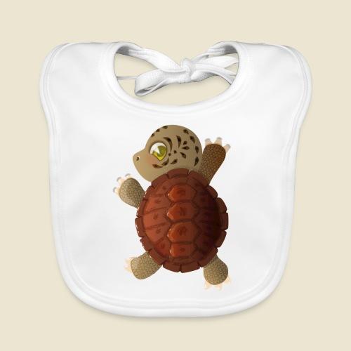 Bébé tortue - Bavoir bio Bébé