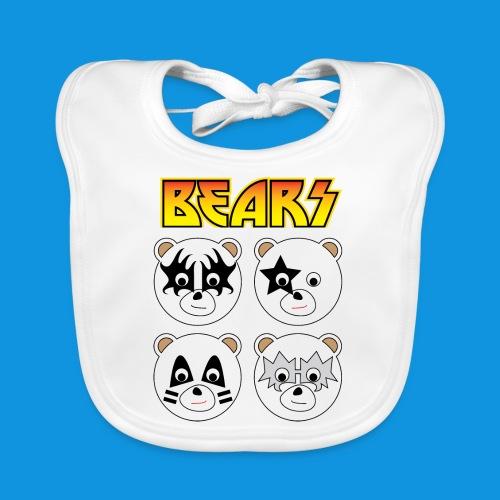 Kiss Bears square.png - Baby Organic Bib
