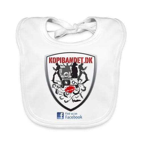 KopiBandet.DK find us on facebook - Baby økologisk hagesmæk
