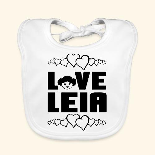 Love Leia - Baby Organic Bib