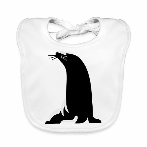 Seehund - Baby Bio-Lätzchen