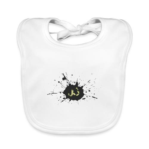 JU spray logo - Vauvan luomuruokalappu