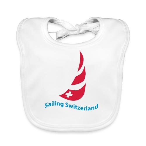 logo sailing switzerland - Baby Bio-Lätzchen