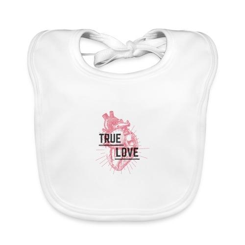 True Love - Bavaglino ecologico per neonato