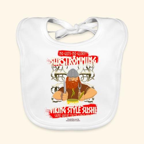 Surströmming Challenge Viking Sushi T-Shirt - Baby Bio-Lätzchen