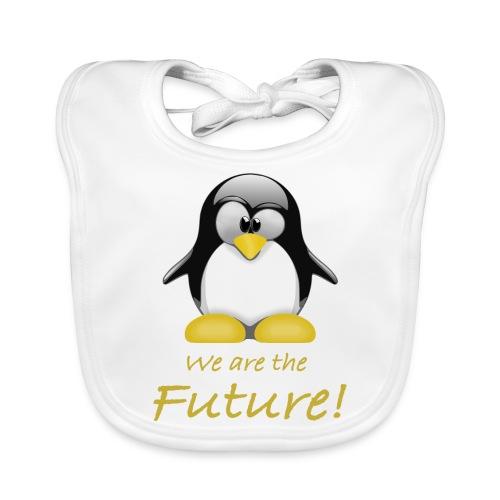 pinguin we are the future - Bavaglino ecologico per neonato