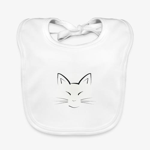 Katze - Baby Bio-Lätzchen