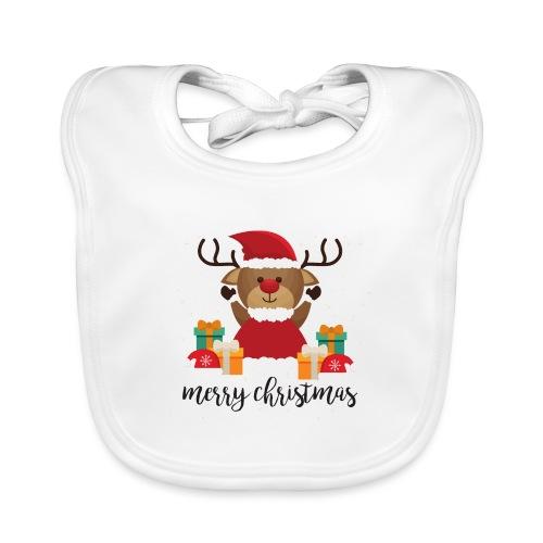 Merry Christmas - Baby Bio-Lätzchen